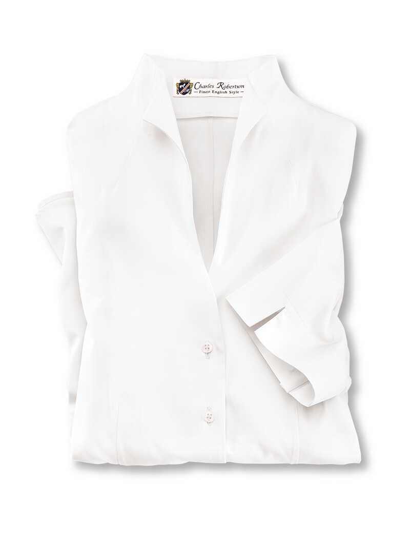 Sommer bluse mit kelchkragen bestellen the british shop for Mode aus england