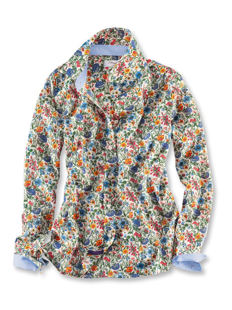 Libertybluse 39 flowery field 39 von mayfair bestellen the for Mode aus england