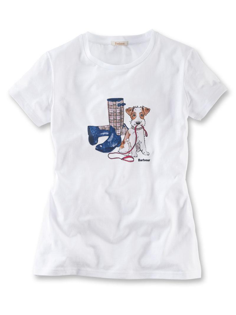 barbour t shirt 39 jacky 39 bestellen the british shop. Black Bedroom Furniture Sets. Home Design Ideas