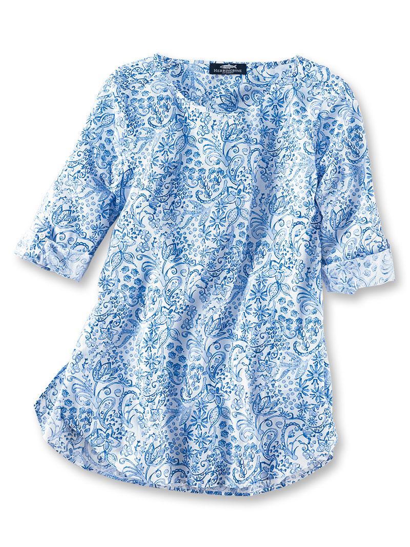 Shirt bluse 39 blue vintage 39 von herringbone bestellen the for Mode aus england