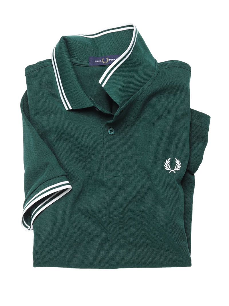 Fred Perry-Polo in Grün