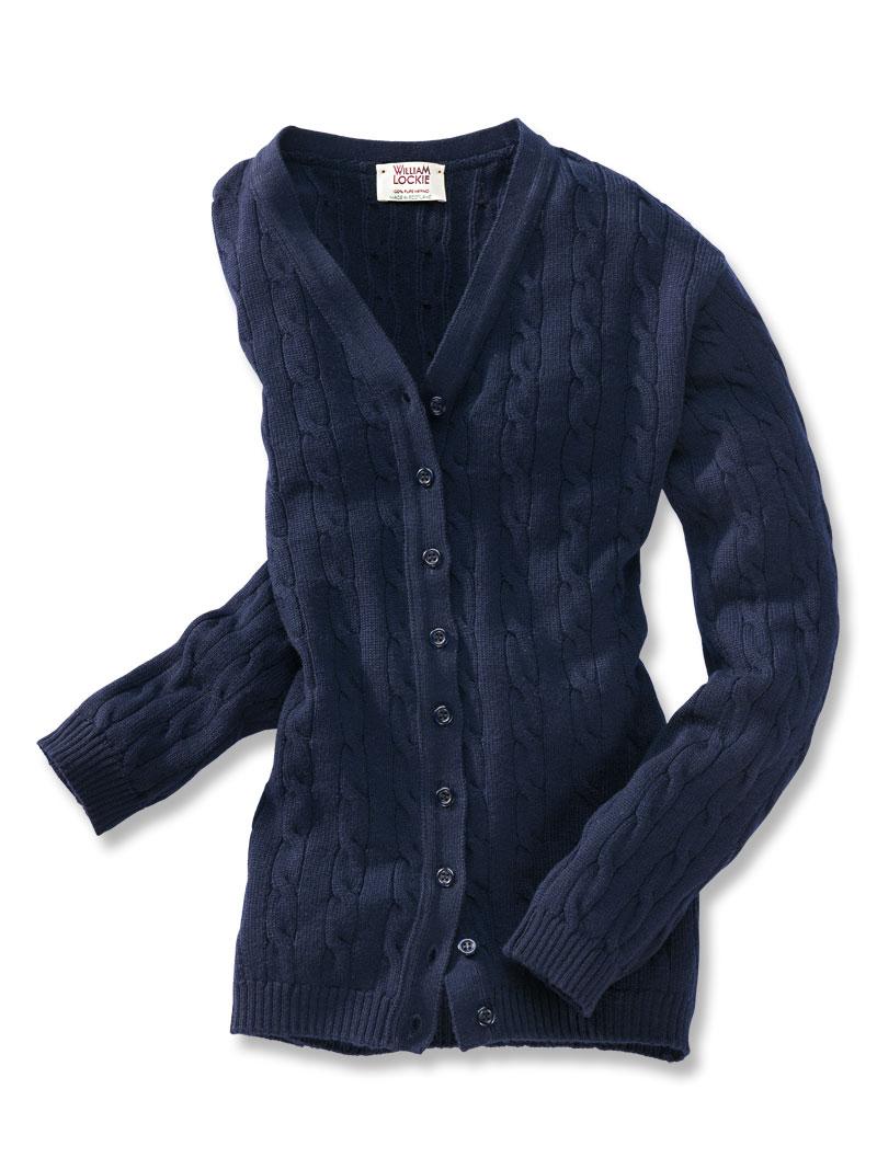 Cardigan aus extrafeiner merinowolle bestellen the for Mode aus england