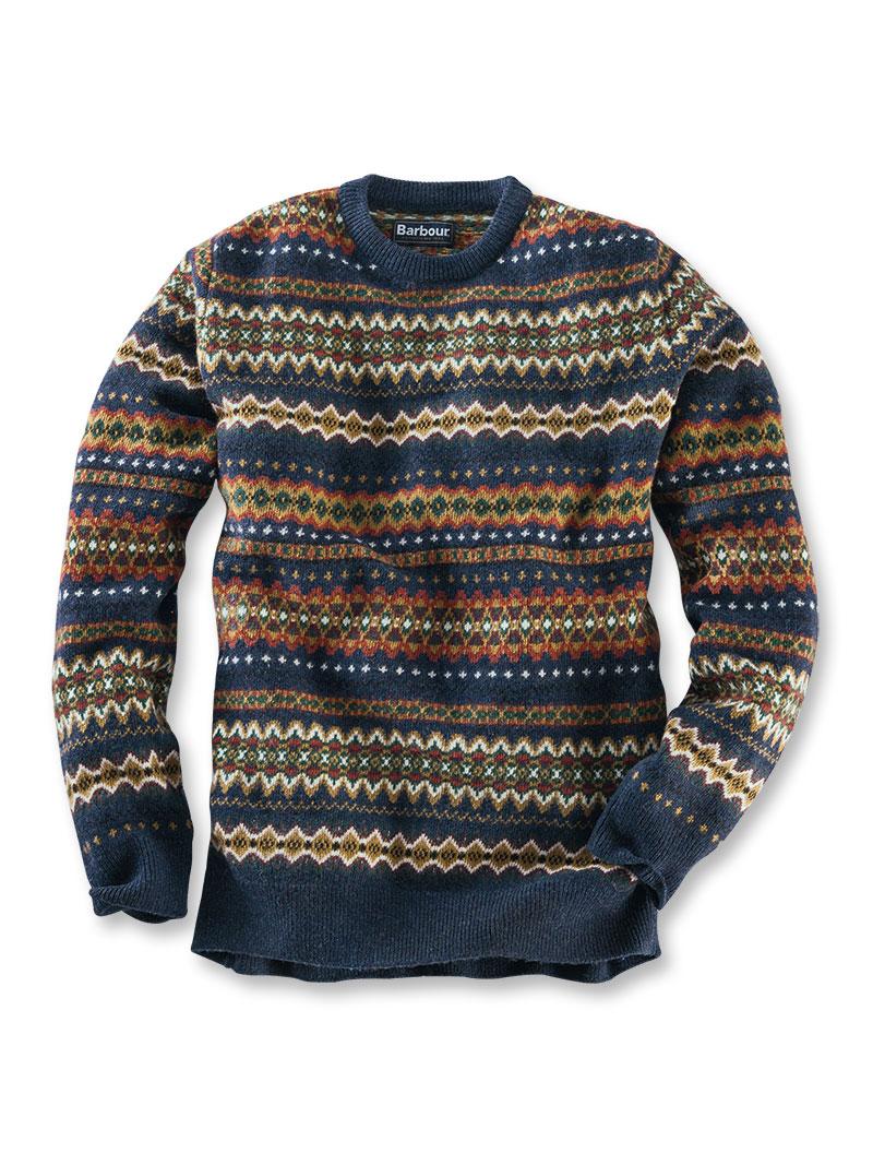 Barbour 39 fair isle 39 pullover aus lambswool bestellen the british shop kleidung g nstig - Fair isle pullover damen ...