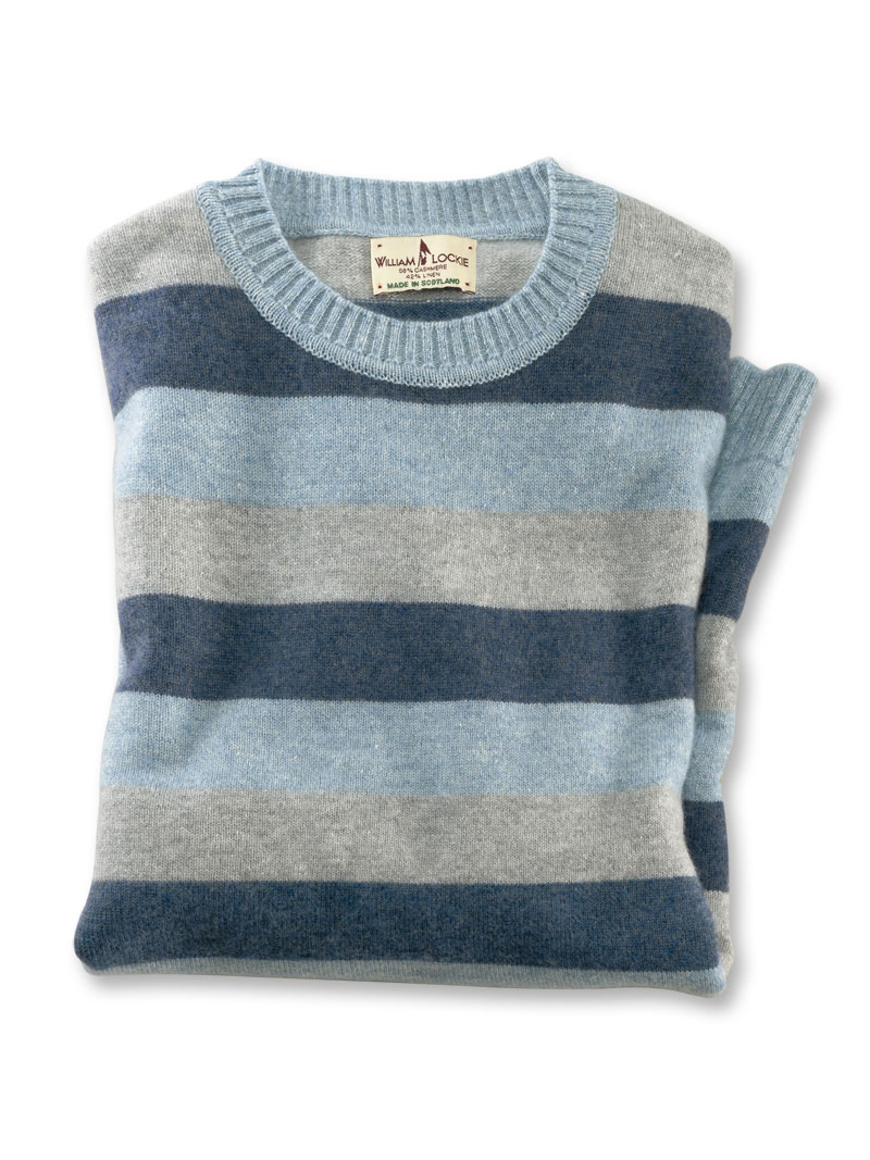 finest selection b38e5 8caea Sommerpullover in Blue-Grey von William Lockie