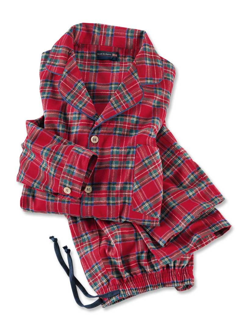 flanell schlafanzug royal stuart bestellen the british shop damenkleidung und mode aus. Black Bedroom Furniture Sets. Home Design Ideas