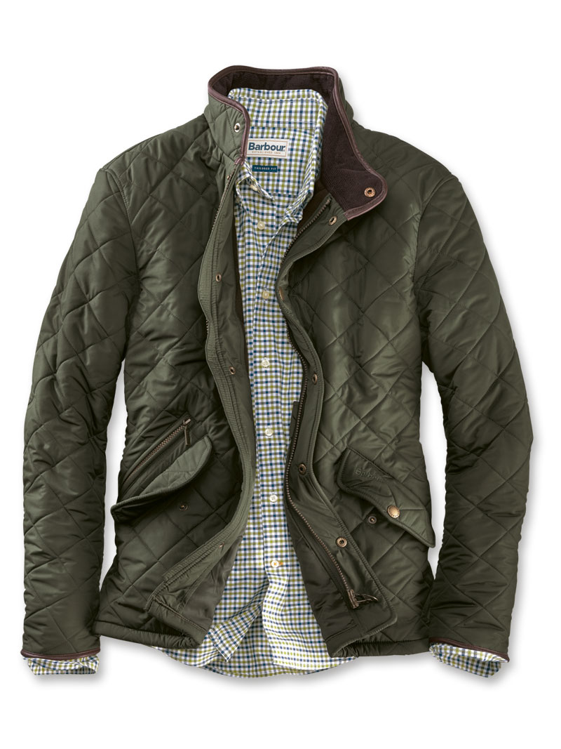 Barbour Steppjacke für Herren in Oliv