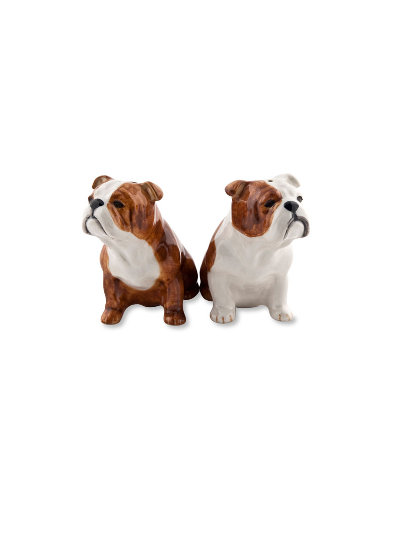 Salt & Pepper-Set 'English Bulldogs' Bild 2