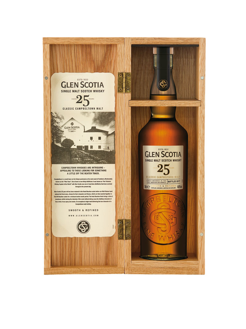 25 Jahre alter Glen Scotia Single Malt Whisky Bild 2