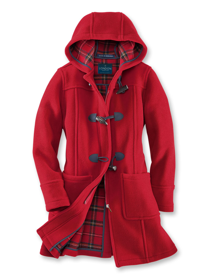 Dufflecoat in Cherry Red von London Tradition Bild 2