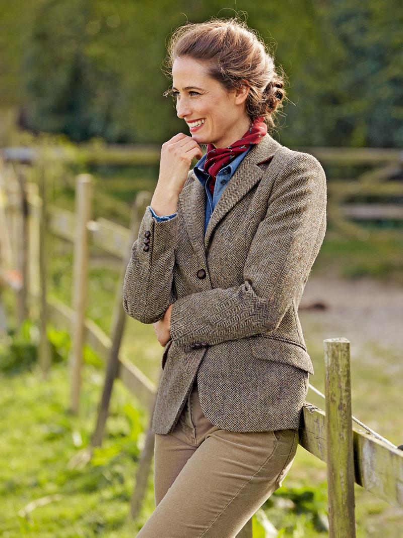 Fischgrat blazer aus harris tweed bestellen the british for Mode aus england