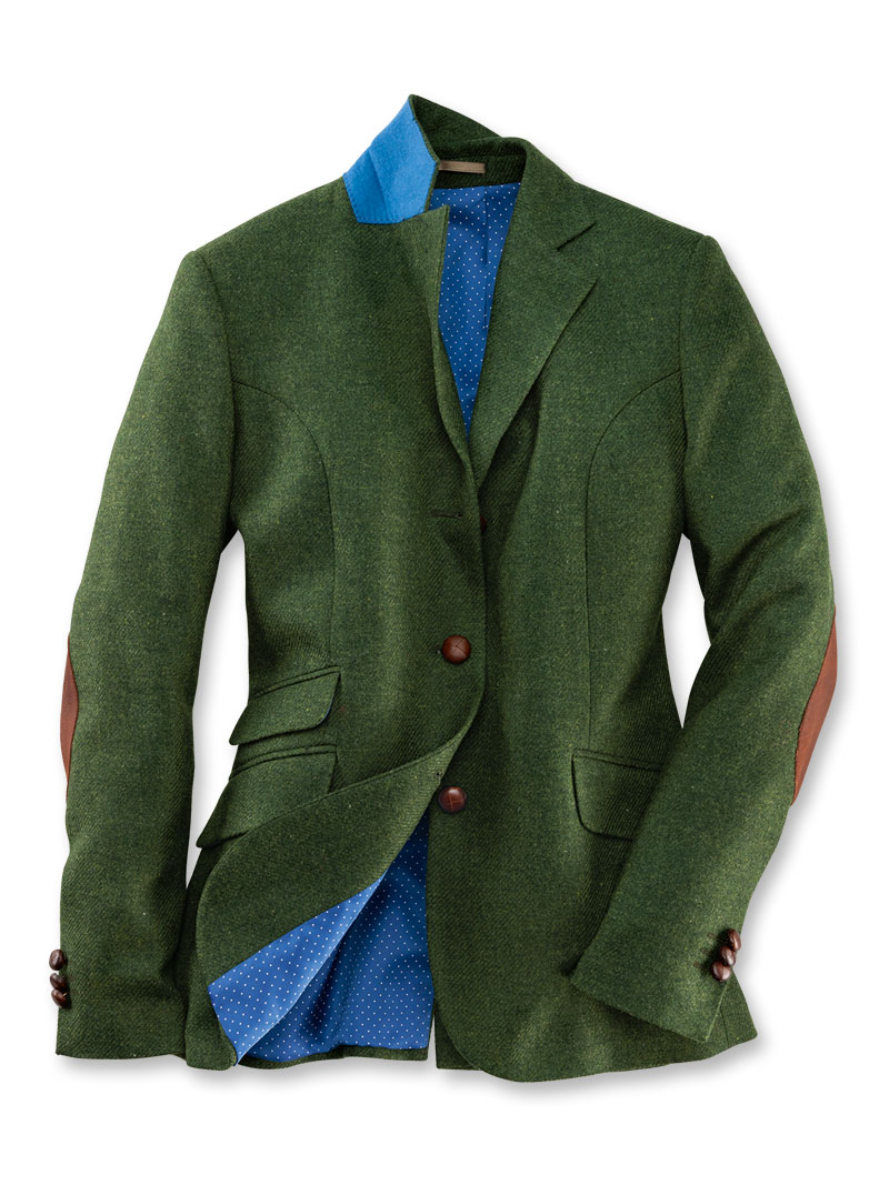 Kinbury-Blazer 'Greencastle' in Irish Green