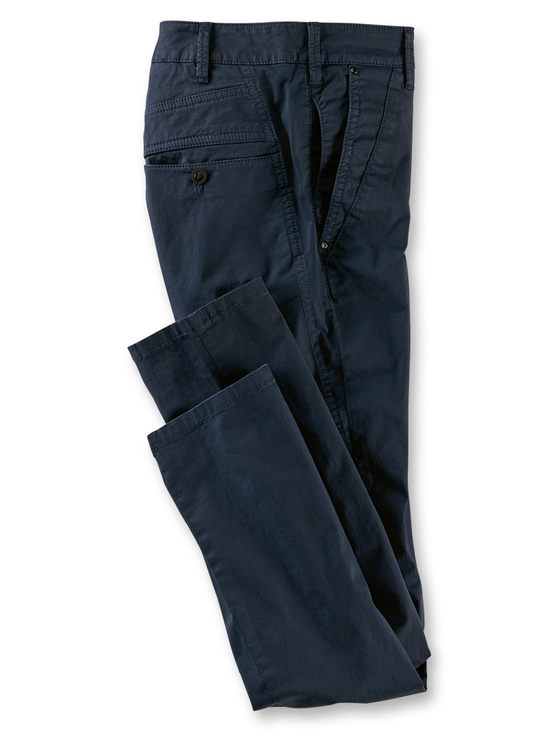Sommer-Chino in Navy
