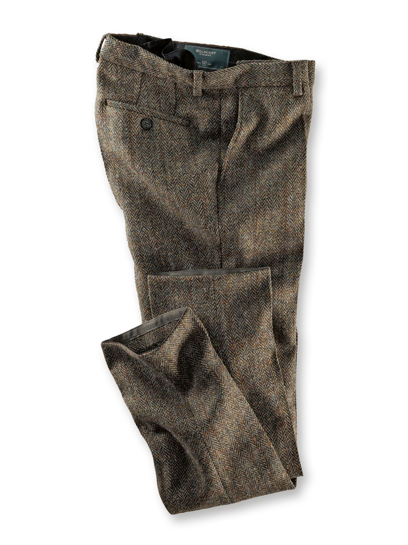 Herrenhose aus Harris Tweed