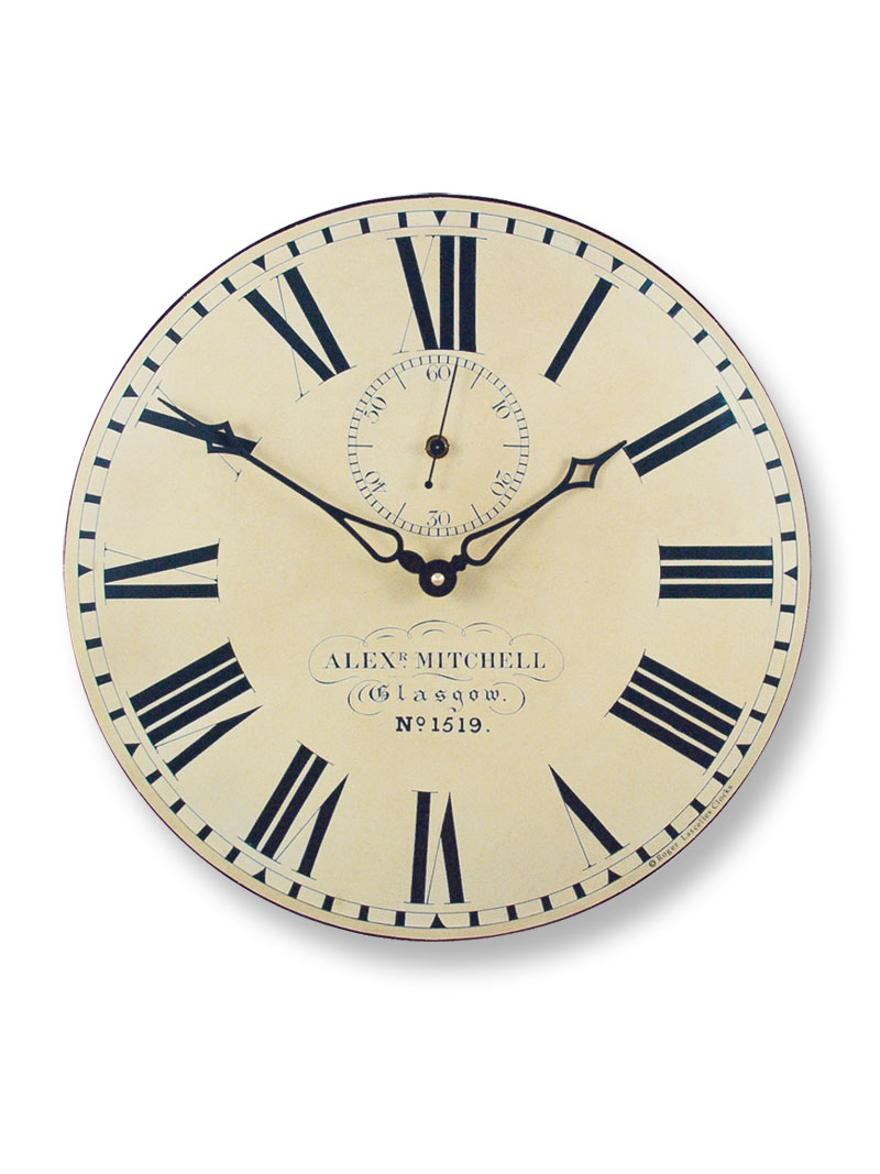 Wanduhr 'Glasgow Station Clock'