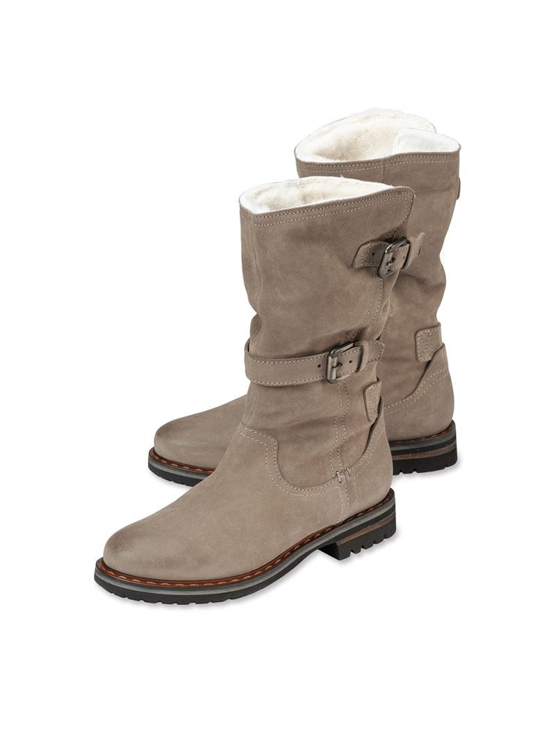 Lammfell Kensington Boots In Von Stone rdCxBoWQe