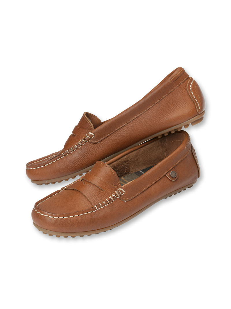 Barbour Loafer in Cognac