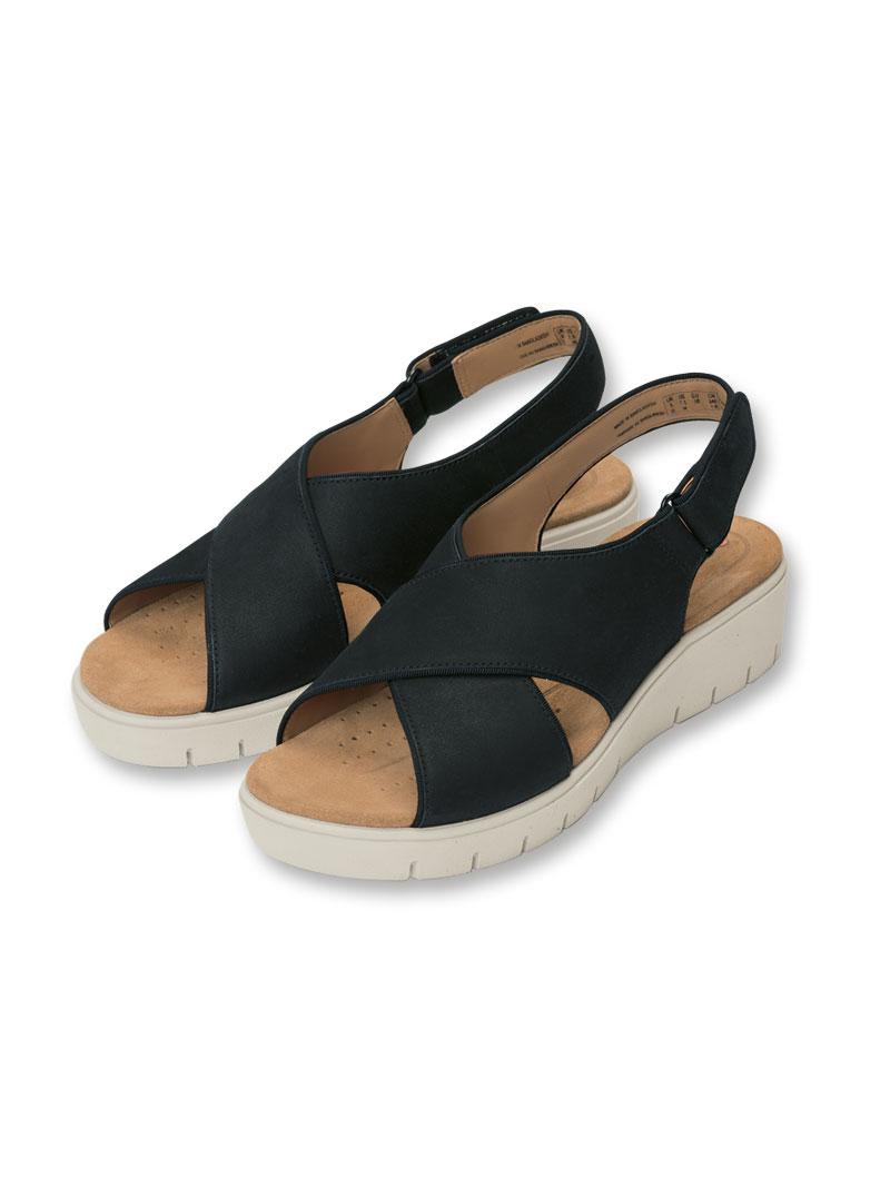 Sandalen Günstig Damen Schuhe Damen Clarks Schwarz Sandalen