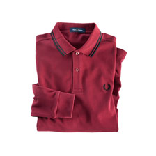 Herrenpolo in Bordeaux von Fred Perry
