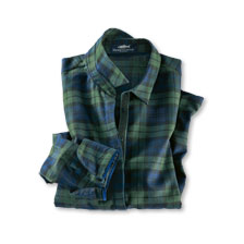 Bluse im Black Watch Tartan