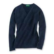 Geelong-Pullover in Dark Navy von Alan Paine