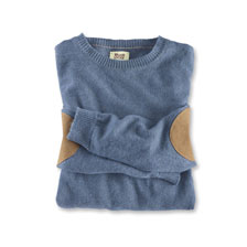 Sommerpullover in Denim von William Lockie
