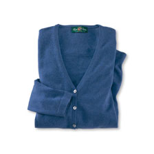 Cardigan 'Sophie' in Indigo von Alan Paine