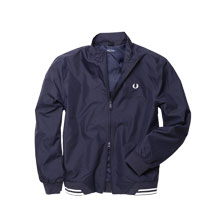 Modischer Sommer-Blouson in Navy von Fred Perry