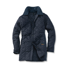 Barbour 'Liddesdale' - Steppjacke in Marine