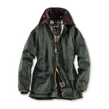Barbour Wachsjacke Bedale in Oliv