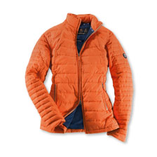 Barbour-Sommer-Steppjacke in Burnt orange