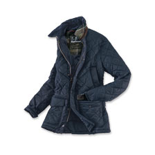 Barbour -Steppjacke 'Canterbury' in Navy