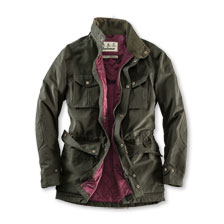 Barbour Funktionsjacke in Dark Olive