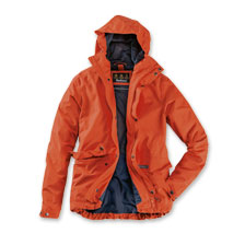 Barbour-Funktionsjacke Foxtrot Jacket in Burnt Orange