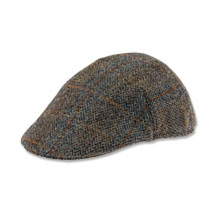 Kappe aus Harris Tweed