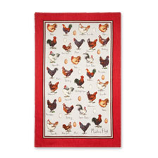 Geschirrtuch ('tea towel') 'Chicken & Egg'