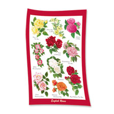 Geschirrtuch 'English Roses' von Countryside Art