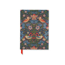 Adressbuch mit William Morris Motiv Strawberry Thief