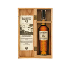 25 Jahre alter Glen Scotia Single Malt Whisky