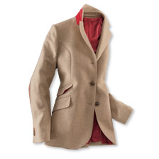 Damenblazer in Camel