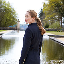 Stehkragenblazer 'Equestrian' in Royal Dark Navy