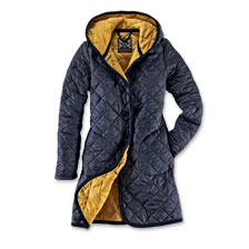 Quilted Coat von Lavenham in Royal Navy