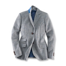 Damenblazer aus Harris Tweed