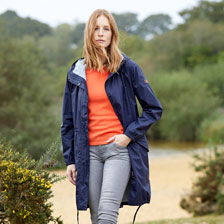 Funktionsparka 'First Rain' in Navy von Aigle
