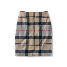 Barbour Pencil Skirt Dress Tartan