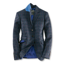 Blazer im Reiterstil aus Harris Tweed