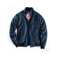 Tweedjacke 'G9 Harrington' von Baracuta