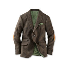 Herrensakko aus Harris Tweed