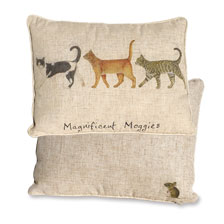 Kissen 'Magnificient Moggies'