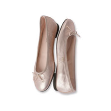 Kensington-Trend-Ballerinas in Rosé metallic