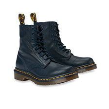 Schnürboot 'Pascal Virginia' in Dress Blue von Dr. Martens